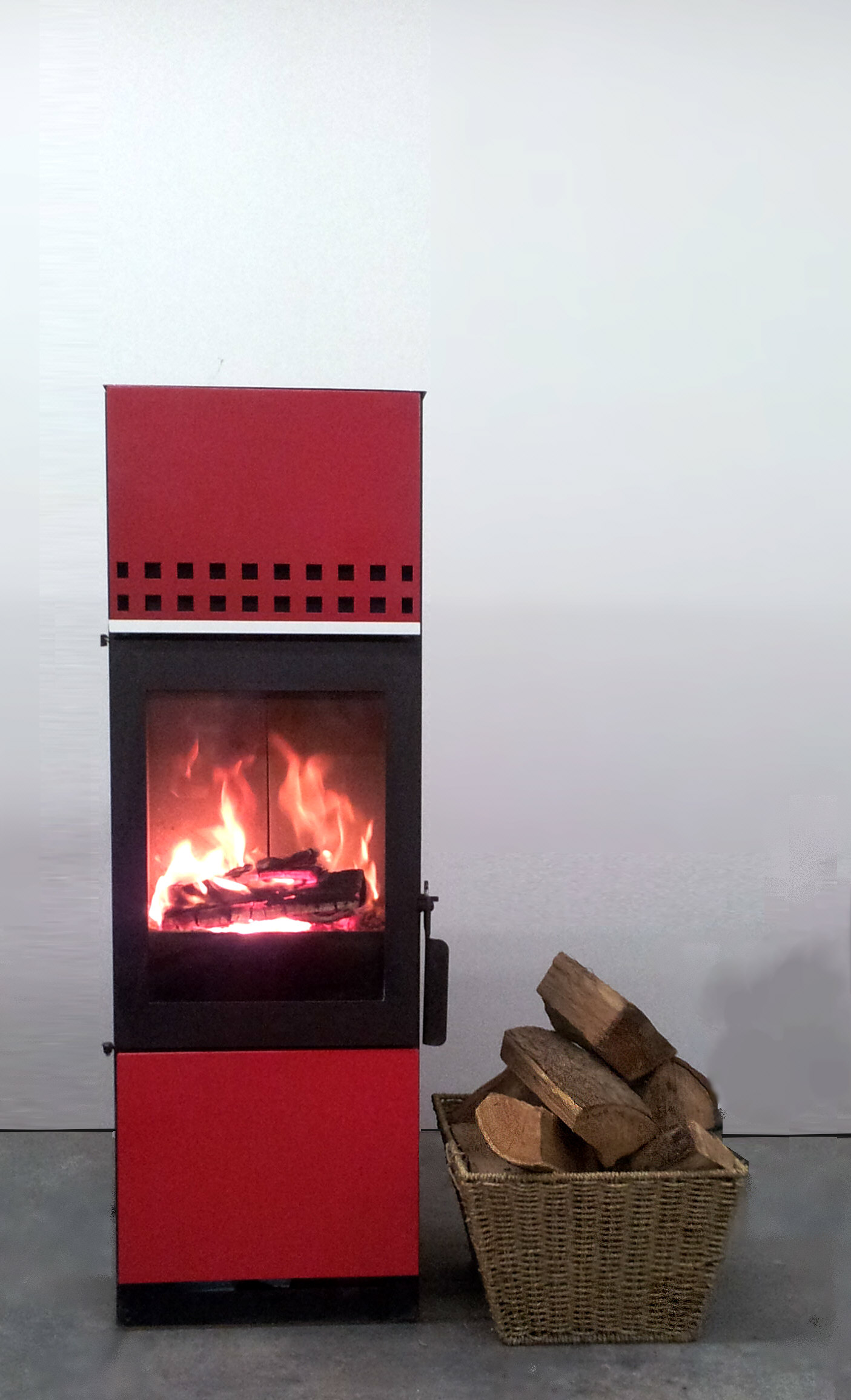 chimneyless wood fireplace chimney less stove superfreakycool
